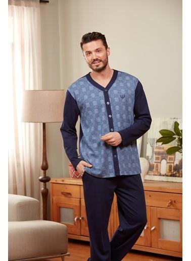 Dagi Pijama Takım Lacivert